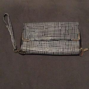 Handbags - Fun Grid Pattern Clutch